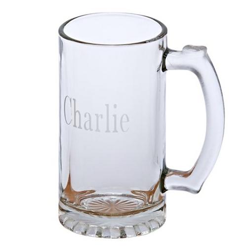 Glass Pint Tankard