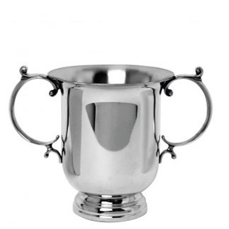 Classic Short Pewter Loving Cup