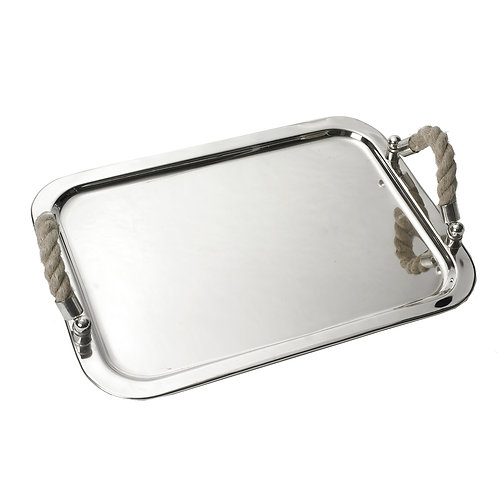 Cruise Canvas Natural Rope Tray