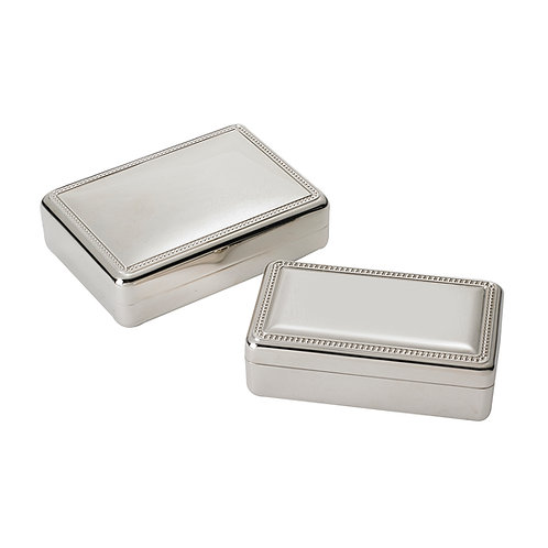 Rectangle Beaded Boxes