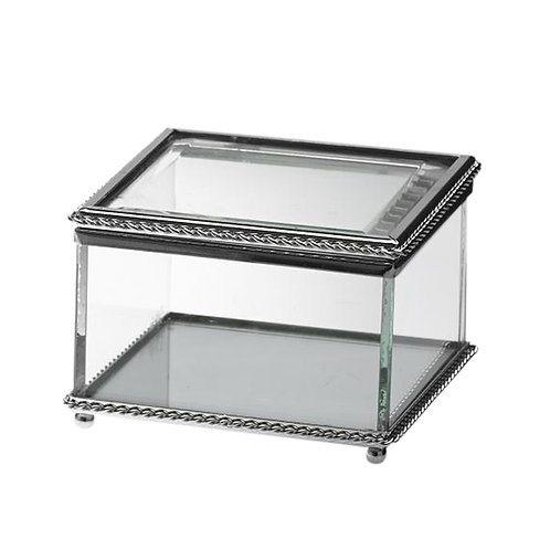 Silver Rope Trim Boxes