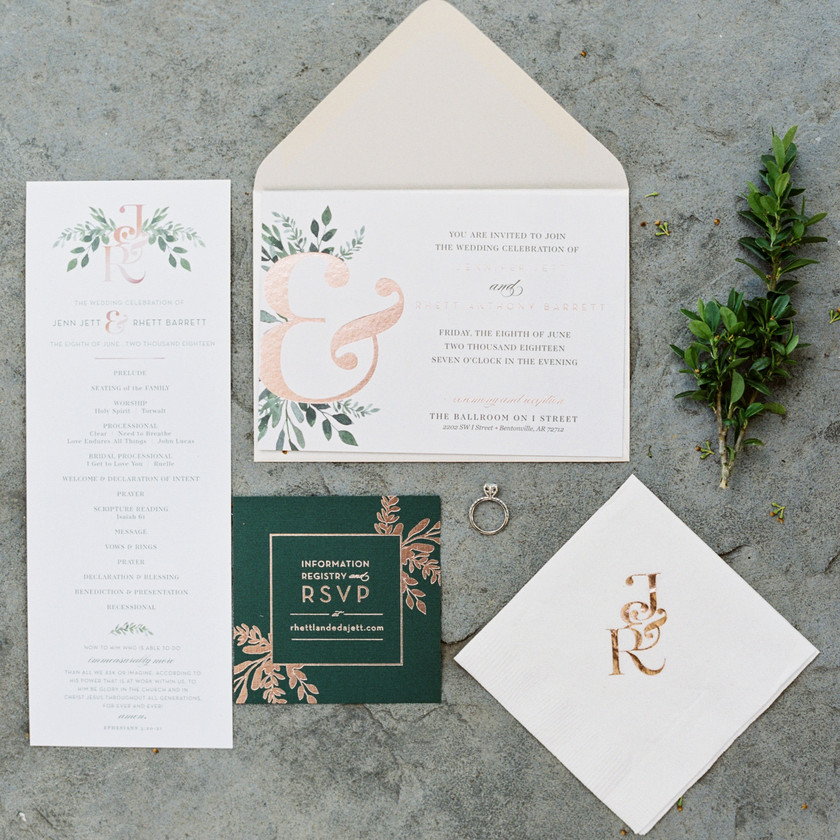 Wedding Invitations Northwest Arkansas The Ballroom at I Street