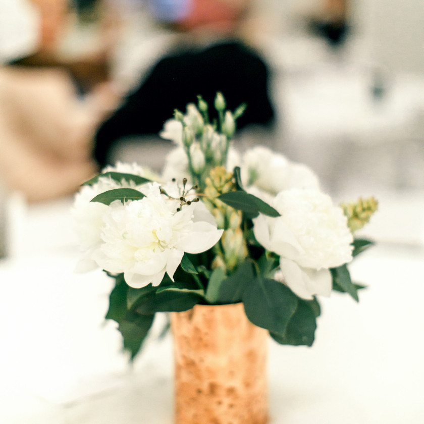 Floral Design Northwest Arkansas Wedding White Green Flowers
