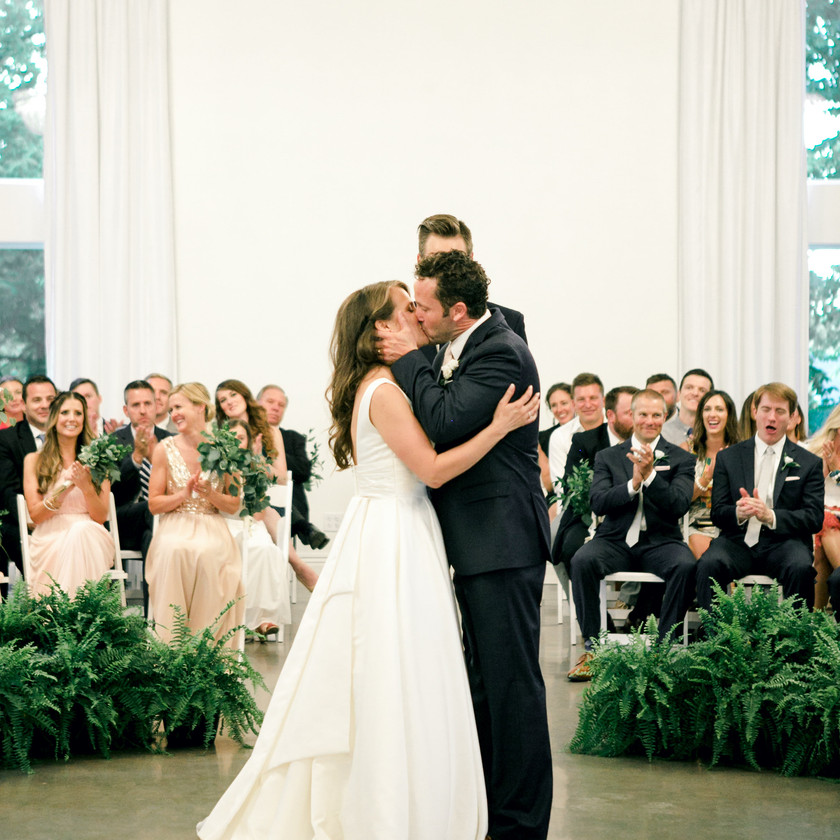 Wedding Kiss Ceremony Ideas Northwest Arkansas Wedding Venues Ballroom