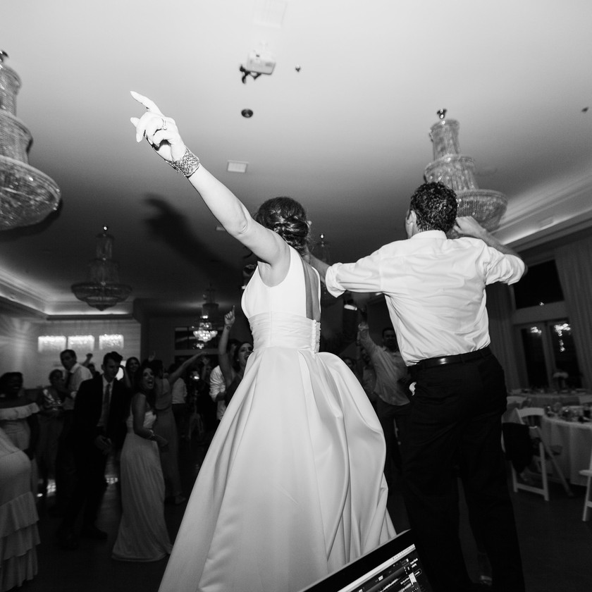 Black and White Wedding Photography Ballroom I Street Wedding Reception Ideas NWA
