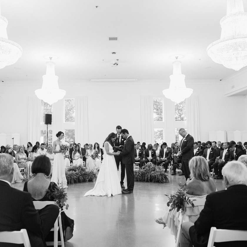 Black and White Wedding Photography Ceremony Round Ideas Bentonville