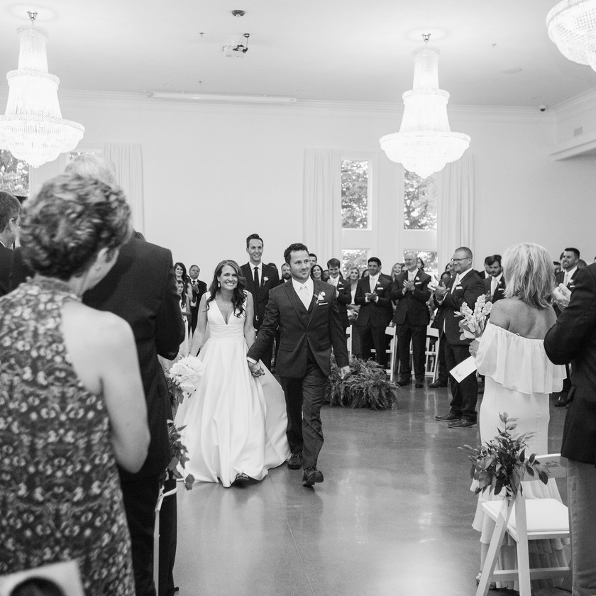 Ceremony Ideas Northwest Arkansas Wedding Ideas Bride Groom Walk