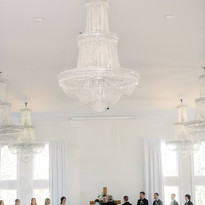 Indoor Ceremony NWA Wedding