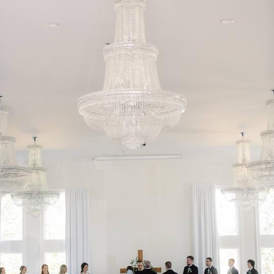 Indoor Ceremony NWA Wedding