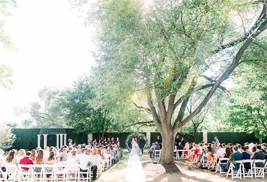 Intimate Outdoor Wedding Venue Space at The Ballroom at I Street