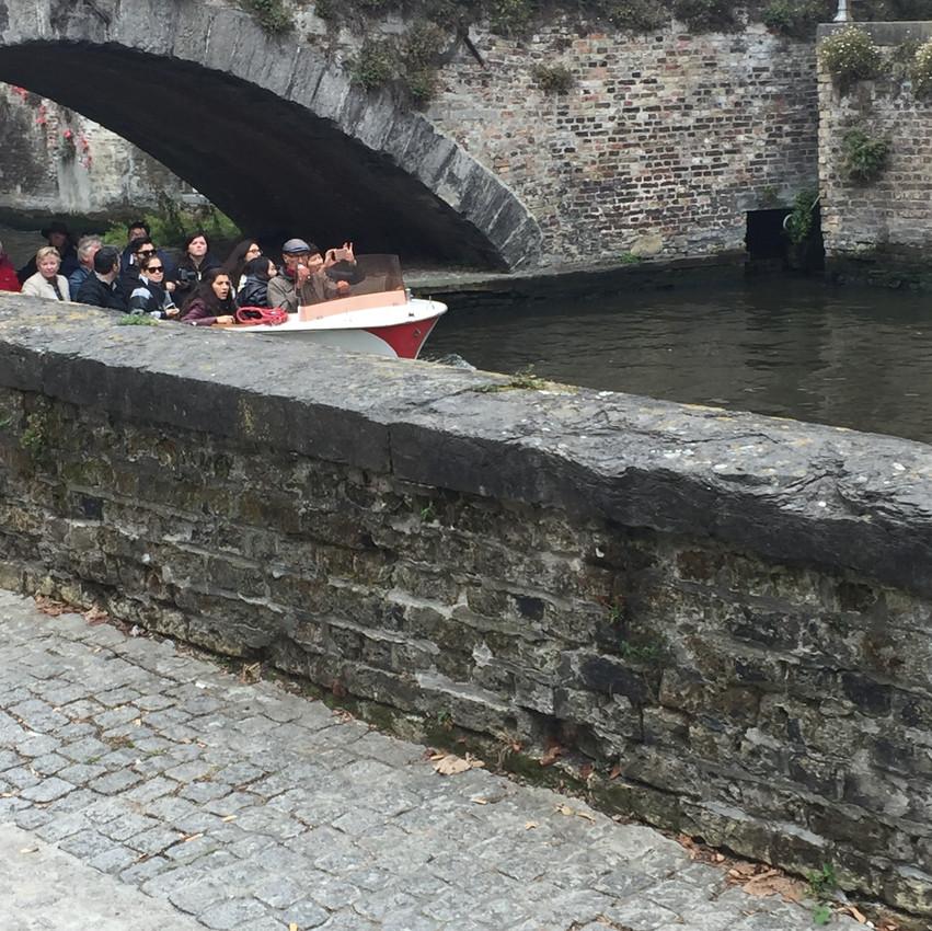 Kanalrundfart i Brügge