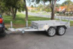 Aluminium Box Tralier
