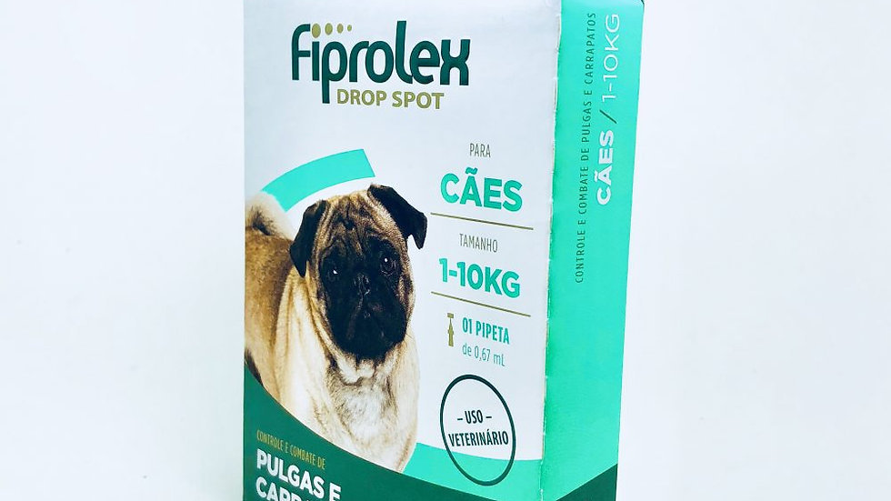 Antipulgas Fiprolex 0,67ml Cães de 1kg a 10kg - Ceva