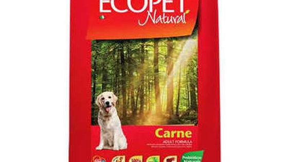 Ração Cães Adultos Carne 15kg - Ecopet Natural