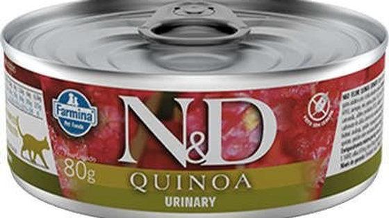 Alimento Úmido Gatos Quinoa Urinary 80gr - ND