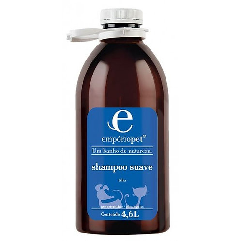 Shampoo Suave 4,6L - Empório Pet