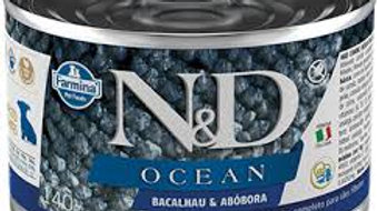 Alimento Úmido Cães Puppy Ocean Bacalhau 140gr - ND