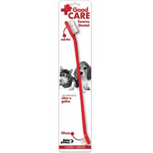 Escova Dental para Cães e Gatos - Good Care