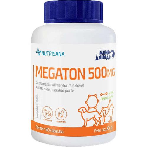 Suplemento Vitamínico Pet Megaton 500mg 60 capsulas - Nutrisana
