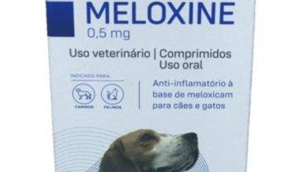 Anti-inflamatório Cães e Gatos Meloxine 0,5mg 10 comprimidos - Mundo Animal