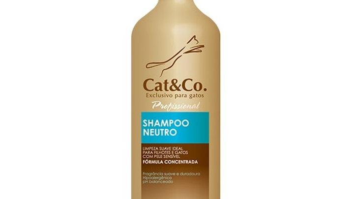 Shampoo Neutro Gatos 1L - Cat&Co