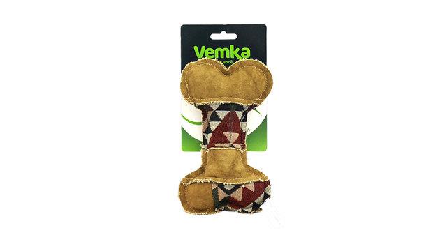 Brinquedo Cães Osso de Lona Bege - Vemka