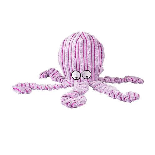 Brinquedo Mordedor pelúcia Polvo Roxo - Jambo Pet