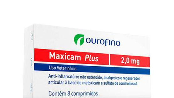Anti-inflamatório Pet Maxicam Plus 2mg - Ouro Fino