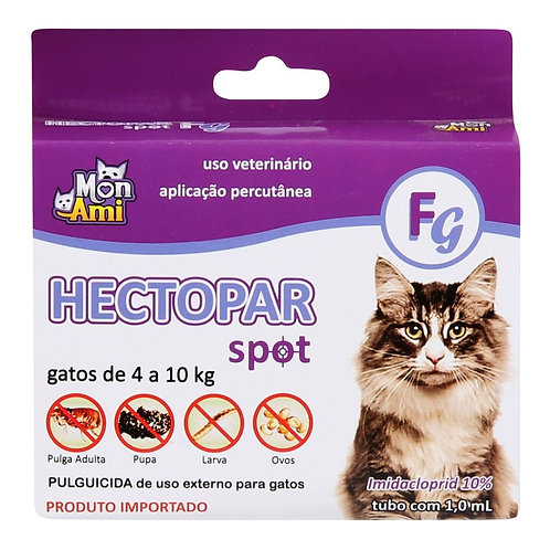 Hectopar FG Antipulgas para Gatos de 4 a 10 kg - Lavizoo