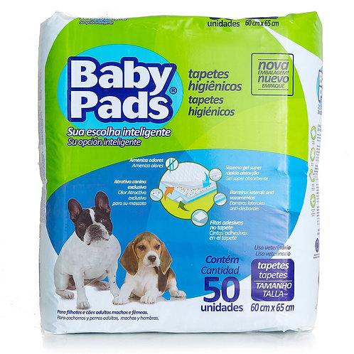 Tapete Higiênico Baby Pads 50 unid - Petix