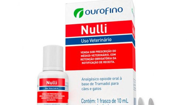 Analgésico para Pet Nulli 10ml - Ouro Fino