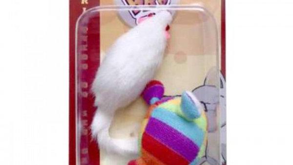 Brinquedo Gatos Rats Blister com 2 unidades - BBB Pet