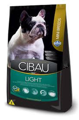 Ração Cibau Cães Mini Adult Light 1kg