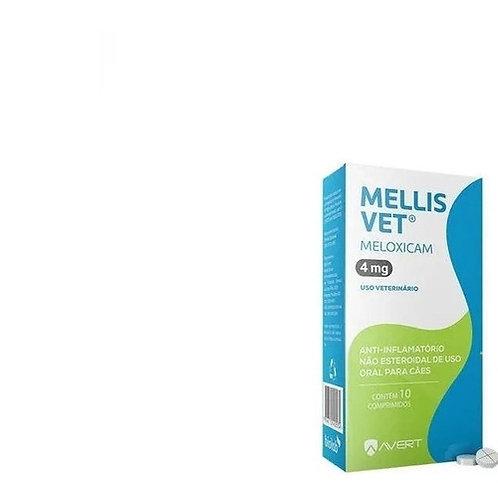 Anti-inflamatório Cães Mellis Vet 4mg 10 comprimidos - Avert
