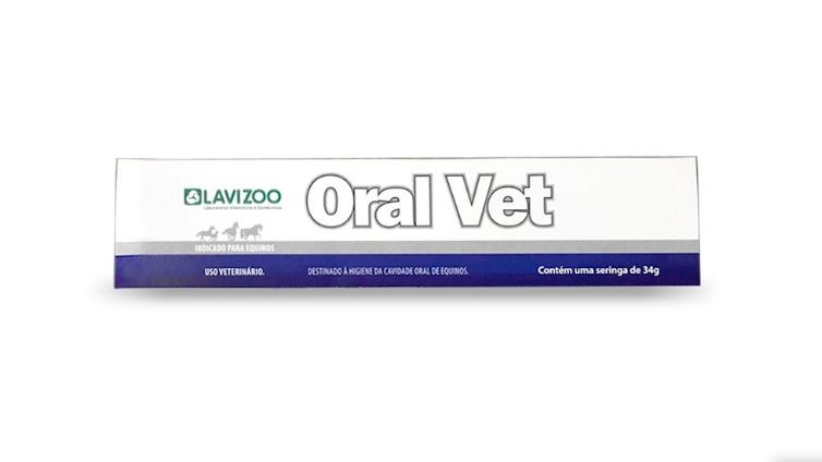 Oral Vet 34gr Lavizoo - Higiene Oral para Equinos
