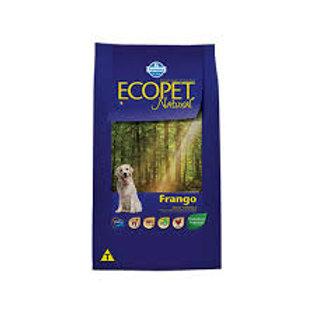 Ração Ecopet Natural Cães Adultos Small Bites sabor Frango 3kg