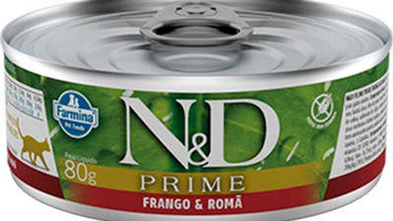 Alimento Úmido Gatos Prime sabor Frango 80gr - ND