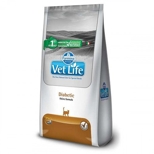 Vet Nat Feline Diabetic 2kg - Vet Life