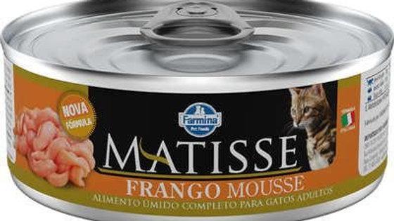 Alimento Úmido Mousse Cat sabor Frango 85gr - Matisse