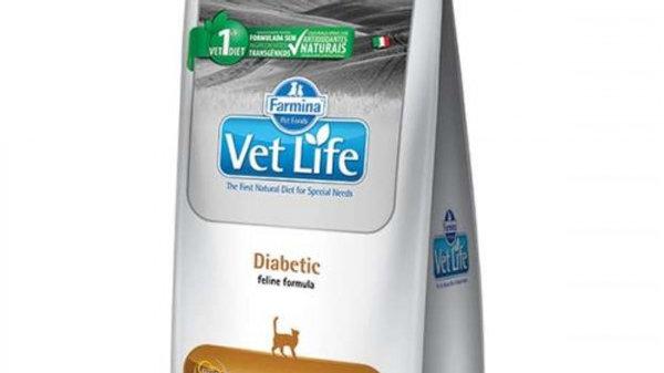 Ração Vet Nat Feline Diabetic 400gr - Vet Life