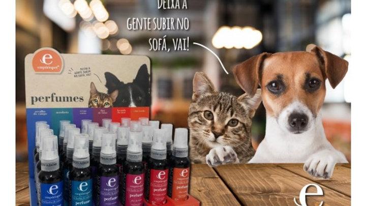 Display Perfumes 18 unidades - Empório Pet