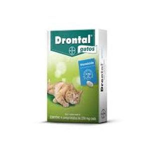 Vermífugo Drontal Gatos 4 comprimidos - Bayer