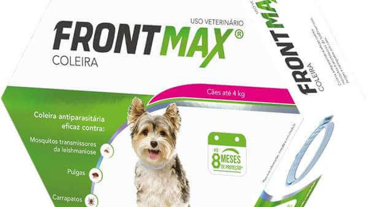 Coleira Antipulgas Cães até 4kg FrontMax - Vetoquinol