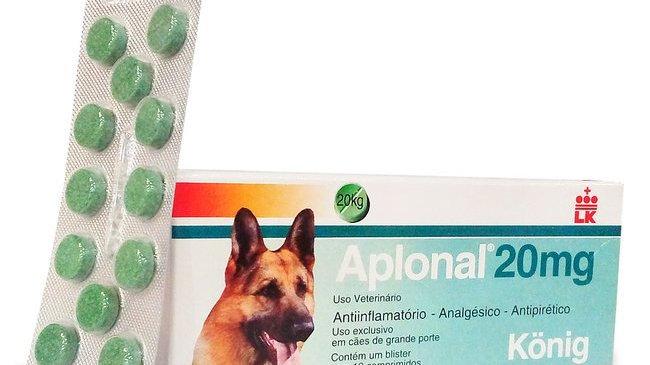 Anti-inflamatório e Analgésico para Cães Aplonal 20mg - Konig