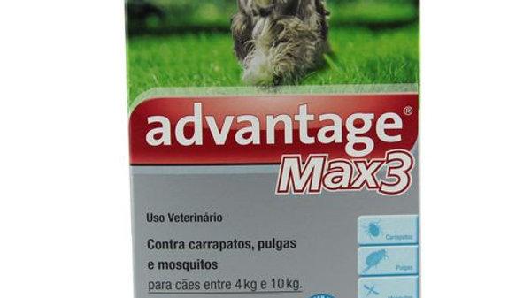 Antipulgas Advantage Max3 Cães e Gatos 1ml - Bayer