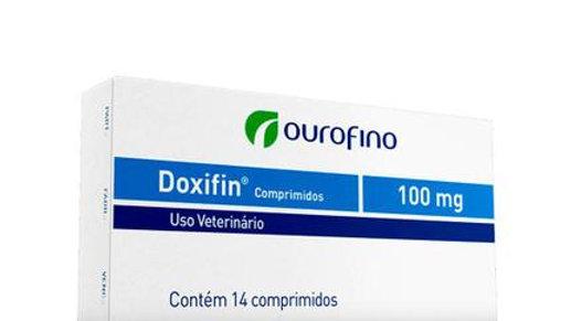 Antibiótico para Pet Doxifin 100mg 14 comprimidos - Ouro Fino