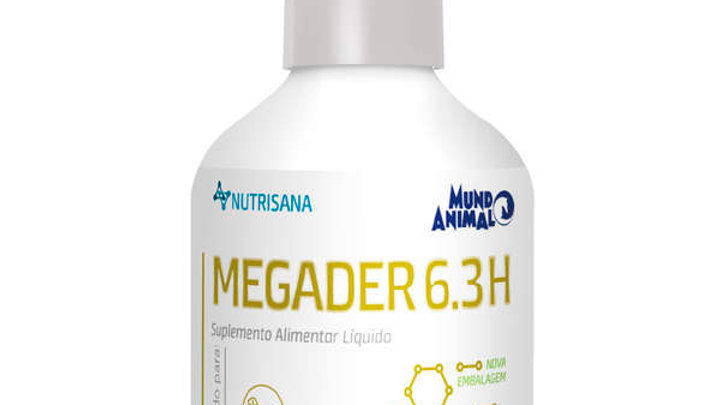 Suplemento Vitamínico Cães Megader Líquido 100ml  - Nutrisana