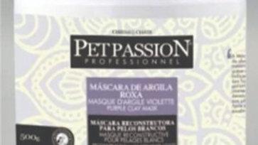 Máscara Pet de Argila Roxa 500gr - Pet Passion