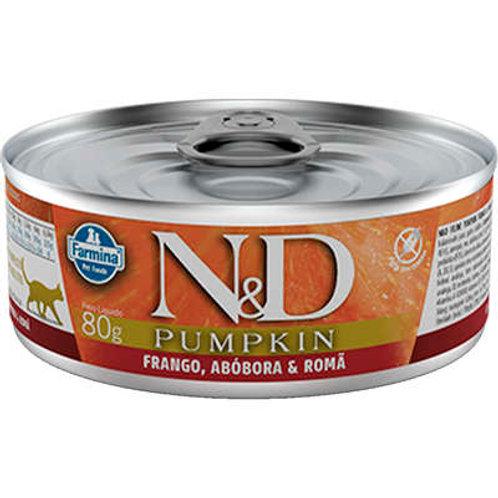 Alimento Úmido Gatos ND Pumpkin sabor Frango 80gr
