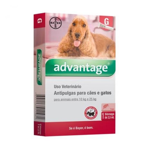 Antipulgas Advantage Cães e Gatos 2,5ml - Bayer